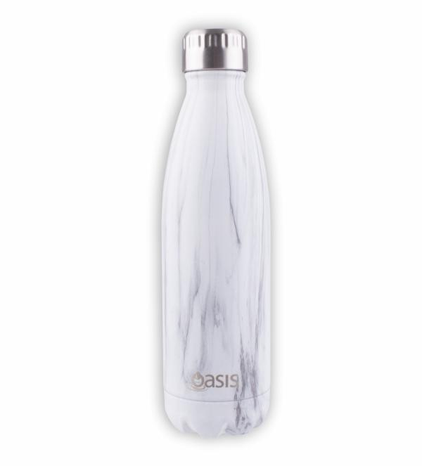 OASIS Drink Bottle 750ml Stainless Insulated - Marble