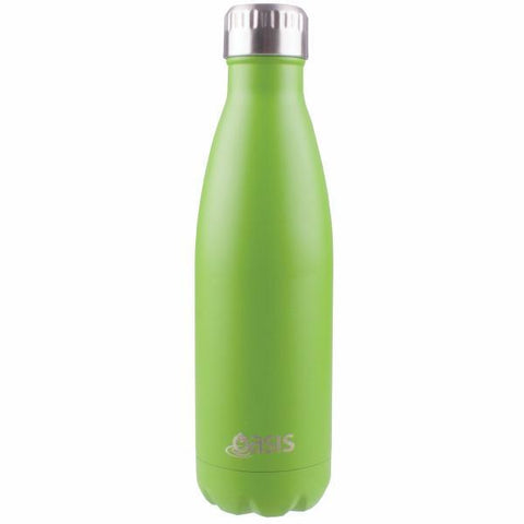 OASIS Drink Bottle 750ml Stainless Insulated - Matte Greenery