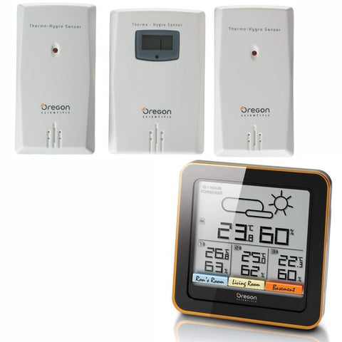 OREGON SCIENTIFIC | RAR502 Multi-Zone Home Climate Control Weather Station