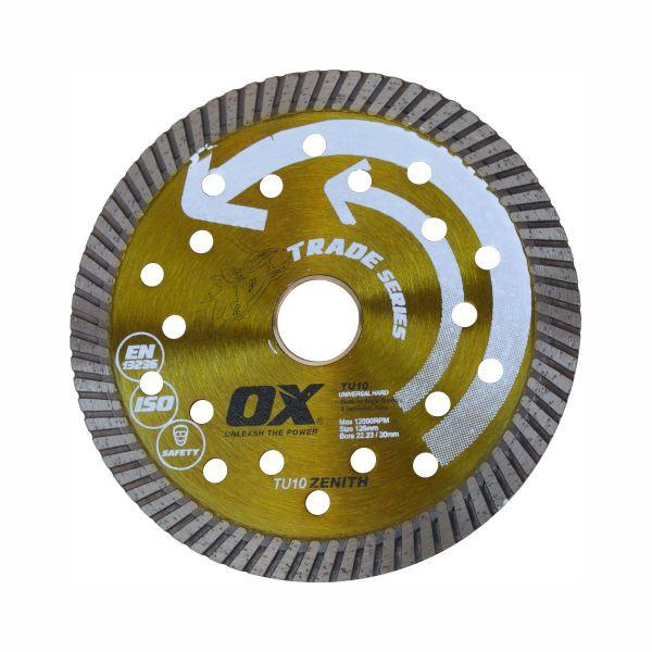 OX 125mm Trade TU10 Universal Turbo Diamond Blade