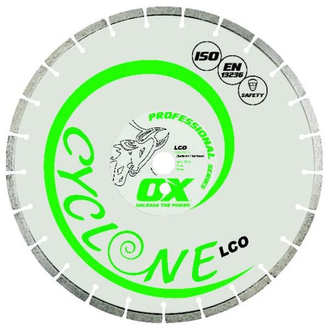 OX Pro LCO Cyclone Concrete Segmented Diamond Blade