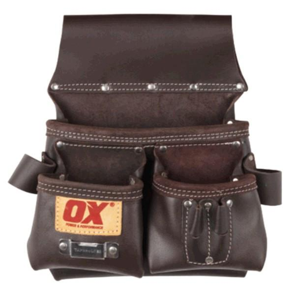 OX Pro Leather Carpenters Pouch