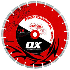 OX Pro PCB 50/50 Combination Segmented Diamond Blade