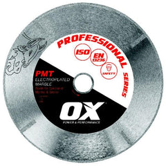 OX Pro PMT Electroplated Marble Diamond Blade
