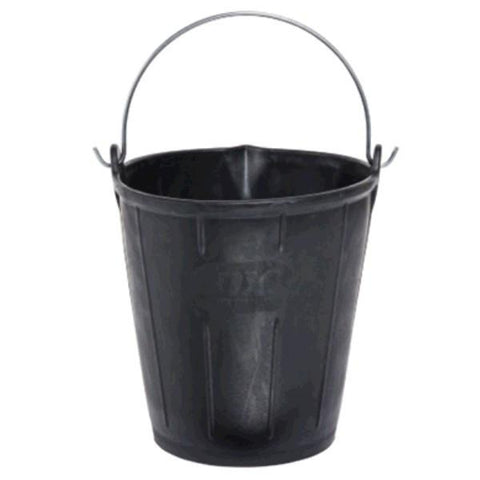 OX JAR Rubber Bucket with Pour Lip 15 Litre