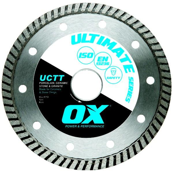 OX UCTT Fine Turbo Tiling Diamond Blade