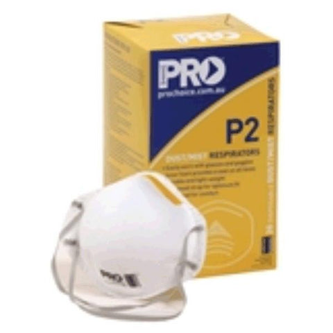 Pro P2 Dust Mask Respirator PC305 - 20 pack