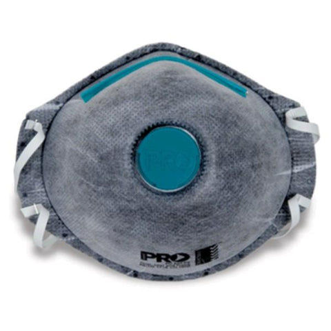 Pro P2 Dust Mask Respirator with Valve & Active Carbon Filter PC531 - 12 pack