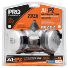 Pro P2 Half Mask Respirator Tradie & Painters Kit in pack