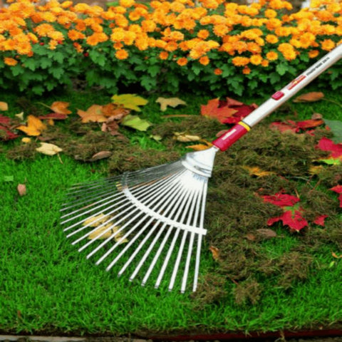 WOLF GARTEN | Multi-Change Garden Tine Rake - Steel - Head Only