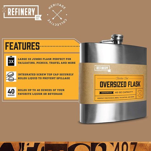 REFINERY & Co | Jumbo Flask