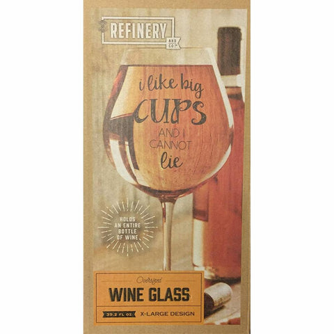 REFINERY & Co | Jumbo Wine Glass 39oz