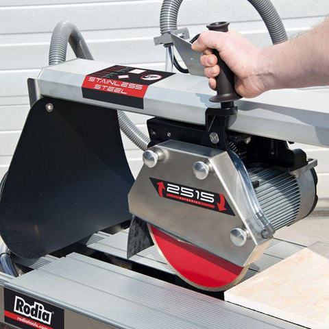 RODIA | 2515RSHP Electric Wet Tilesaw 1500mm - 3HP