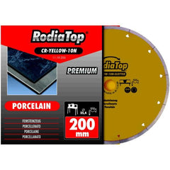 Rodia Premium Continuous Slotted Rim Diamond Blade with Sleeve