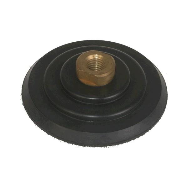 Stonex Backing Pad - Rubber - Rigid - 100mm Diameter