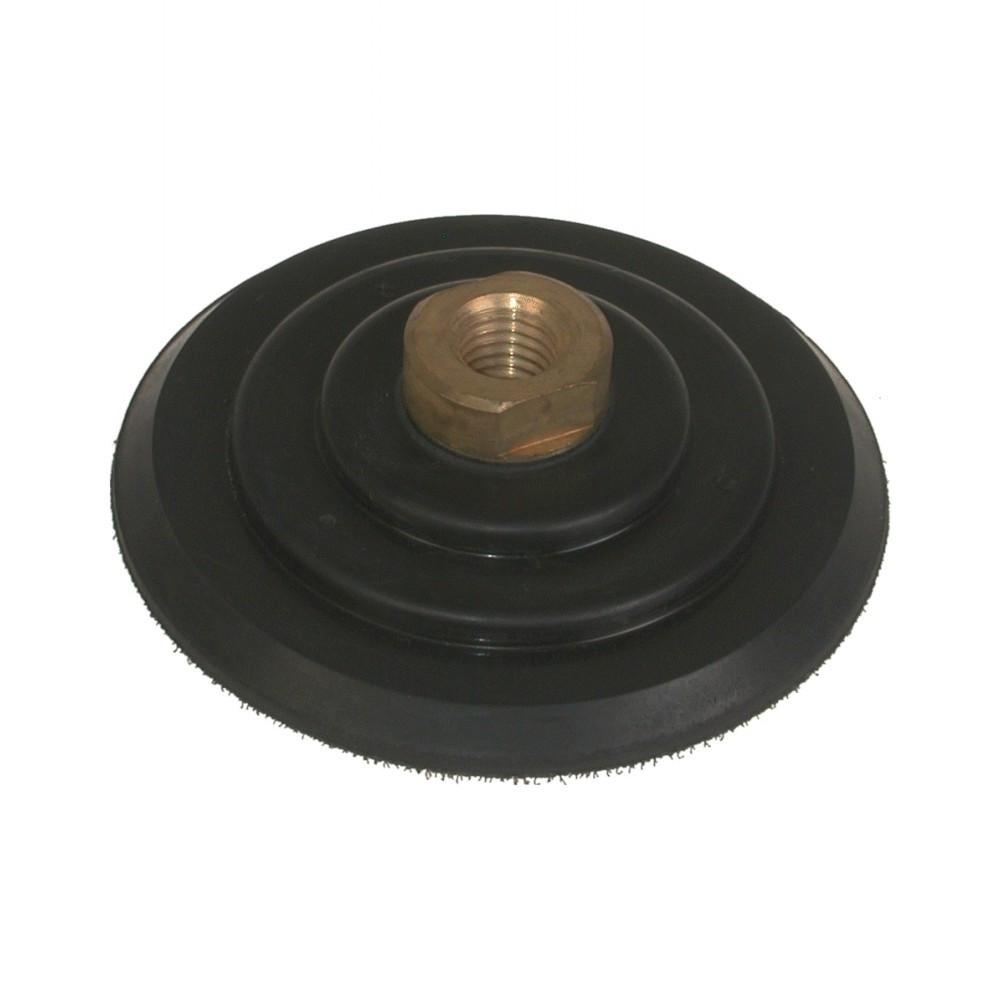 Stonex Backing Pad - Rubber - Flexible - 100mm Diameter