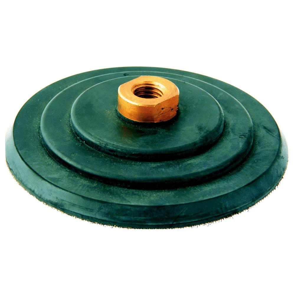 Stonex Backing Pad - Rubber - Flexible - 125mm Diameter - 5/8 thread