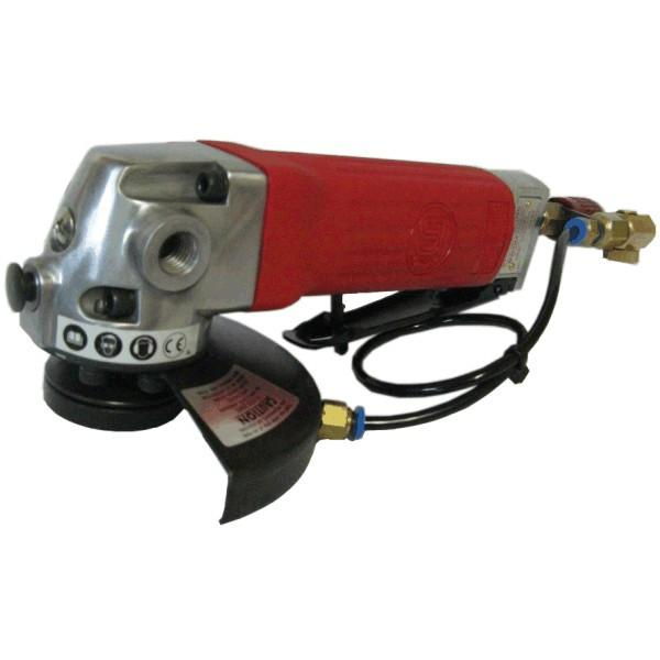 SHINANO 2515LA-W WET Air Angle Grinder