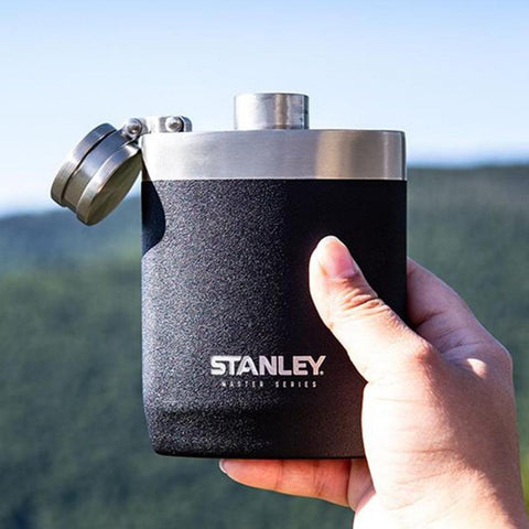 STANLEY Master Hip Flask 8oz (236ml) - Foundry Black