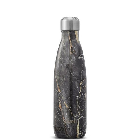 S'Well | Insulated Bottle ELEMENTS Collection 500ml - Bahamas Gold Marble