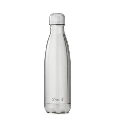 S'Well | Insulated Bottle METALLIC Collection 500ml - White Gold