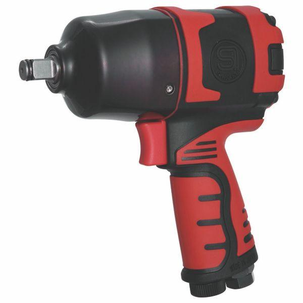 "Shinano 1/2"" Pistol Impact Wrench, Twin Hammer - SI1490A"