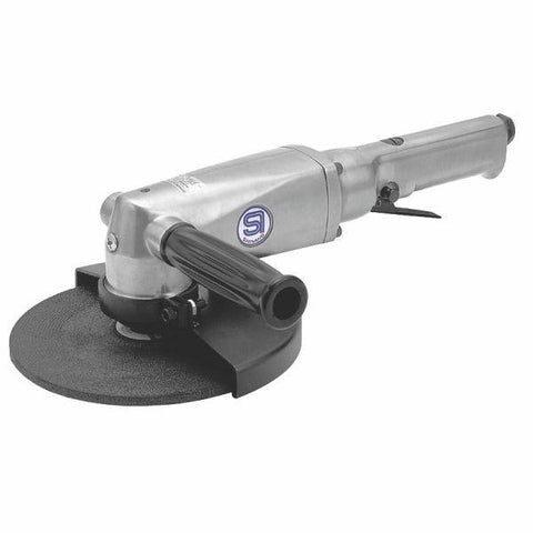 SHINANO | Pneumatic 180mm Angle Grinder, Governed - SI-2600L