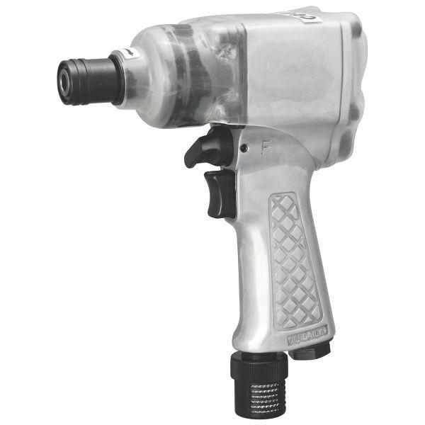 "SHINANO | Pneumatic 3/8"" Pistol Impact Wrench, Double Hammer - SI1365"
