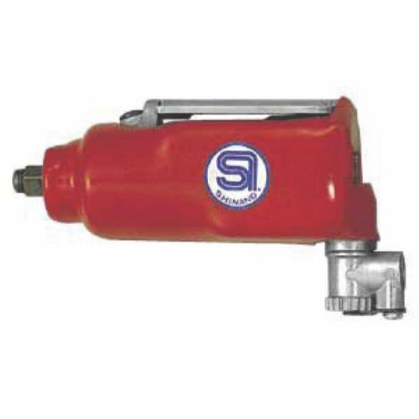 "SHINANO | Pneumatic 3/8"" Straight Impact Wrench, Single Hammer - SI-1305"