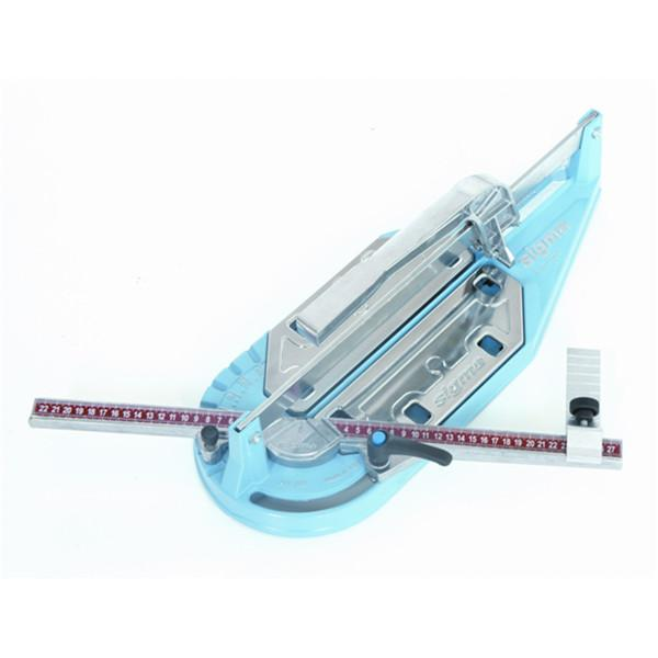 The Sigma Tile Cutter  fitted with strong tungsten carbide scoring wheel