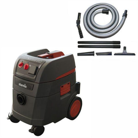"Starmix® 35L (Wet/Dry) Dust Extractor ""IS"" iPulse ARDL-1435 Series with Permanent Clean System - Construction"