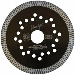 Stonex Black Universal Super Turbo - Granite Diamond Blade