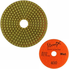 Stonex Dark Face Flexible Wet Polishing Pad - Econo Series - 100mm / 4