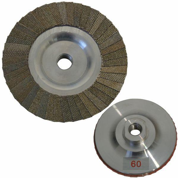"Stonex Diamond Flap Disc - 100mm/4"" - M14"