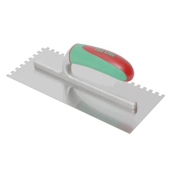 Tile Line Notched Trowel - Stainless Steel - Professional Series