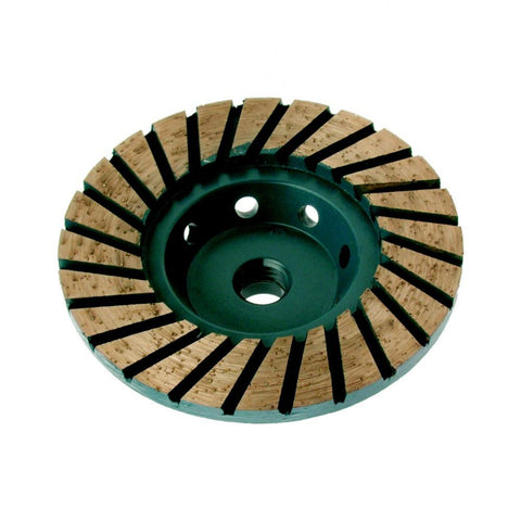 Turbo ADW Diamond Cup Wheel - Course 30 grit 100mm Dia.