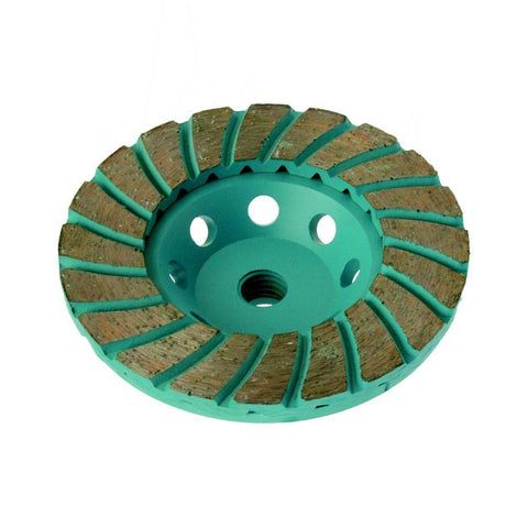 DTEC Turbo Premium Diamond Cup Wheel - Coarse 30 grit 100mm Dia.