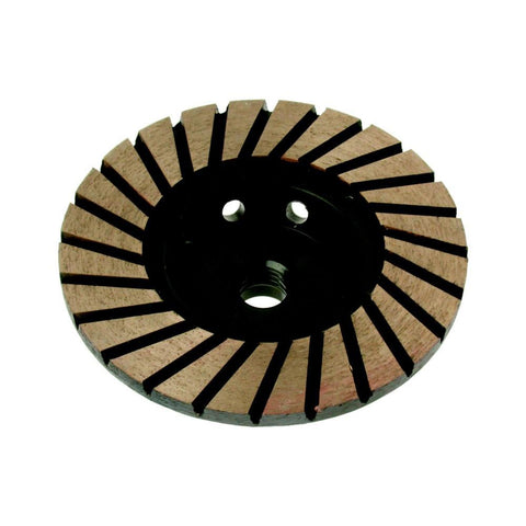 ADW | Turbo  Cup Wheel - Fine 120 grit 100mm Diameter