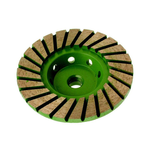 ADW  | Turbo  Cup Wheel - Medium 60 grit 100mm Diameter