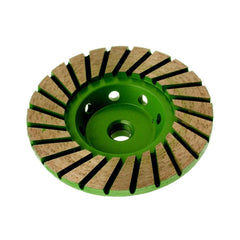 Turbo ADW Cup Wheel - Medium 60 grit with 100mm Diameter