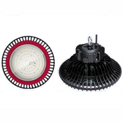 UFO LED Industrial Warehouse High Bay lights - 150W - 4 Pack product image angles