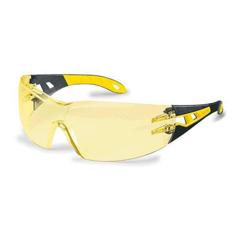 UVEX Safety Glasses PHEOS - Amber Lens