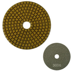 Unitec 100mm Flexible Polishing Pad