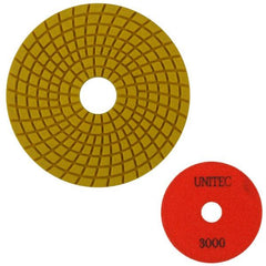 Unitec 100mm Flexible Polishing Pad - Engineered Stone