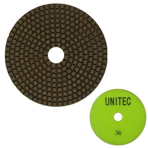 Unitec 125mm Flexible Polishing Pad