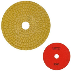 Unitec 125mm Flexible Polishing Pad - Engineered Stone