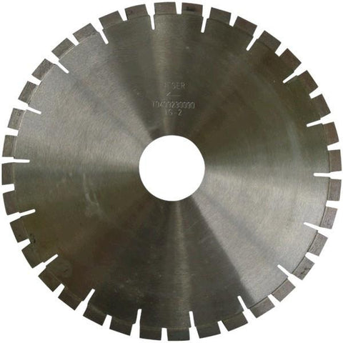 Unitec Heger Titan Bridge Saw Diamond Blade - Granite