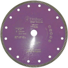 Unitec Universal Granite Pro Turbo Diamond Blade