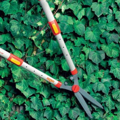 WOLF GARTEN Telescopic Hedge Shears at the hedge