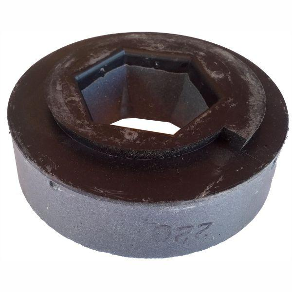 Wet Abrasive Polishing Wheel - Snail Back - 130mm